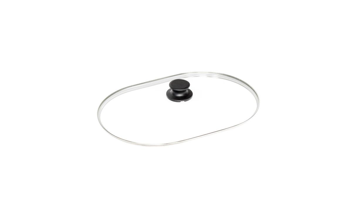 Sicherheits-Glasdeckel oval